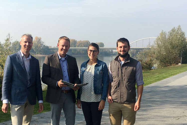EU project EcoVeloTour: fostering bicycle tourism in the Danube region