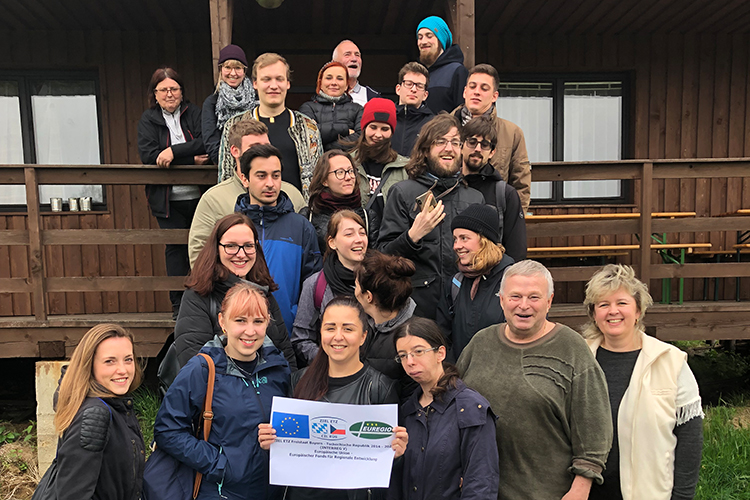 EUREGIO Project: students sound out local government cooperation in the border region