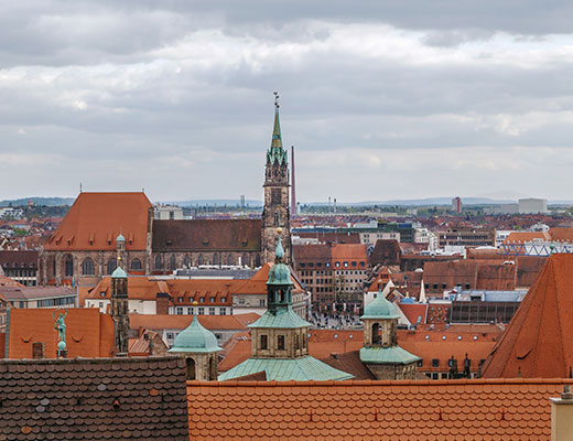 Nuremberg's cathedrals – best practice for the digital capture of complex architectural monuments