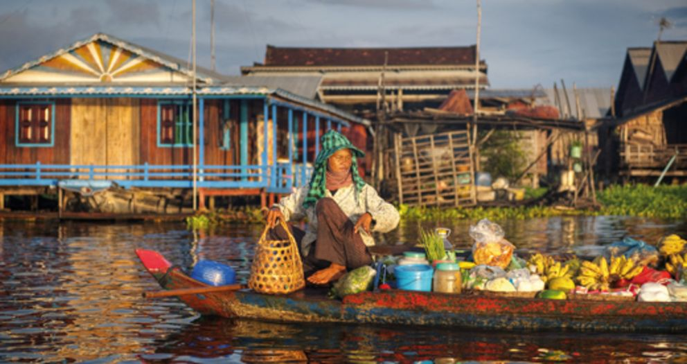Development Studies: Floating market in Southeast Asia, © Rawpixel - Fotolia.com