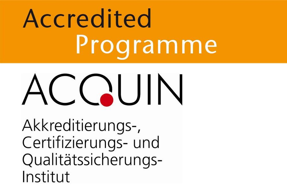 Accredited degree programme