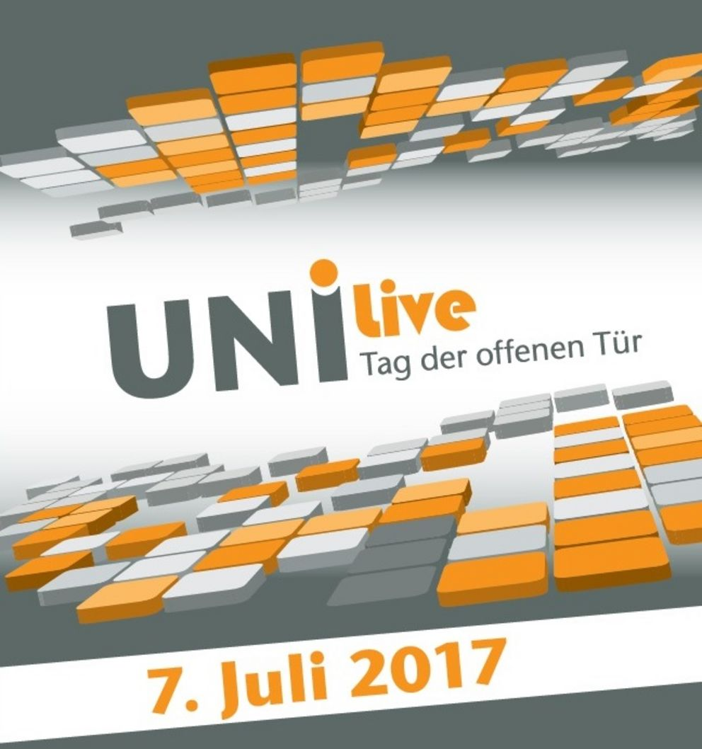 Uni Live – Open Day on 7 July 2017