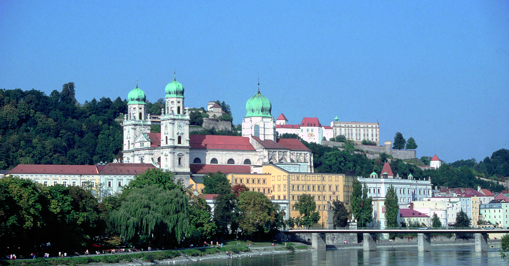 View of the cathedral of Passau