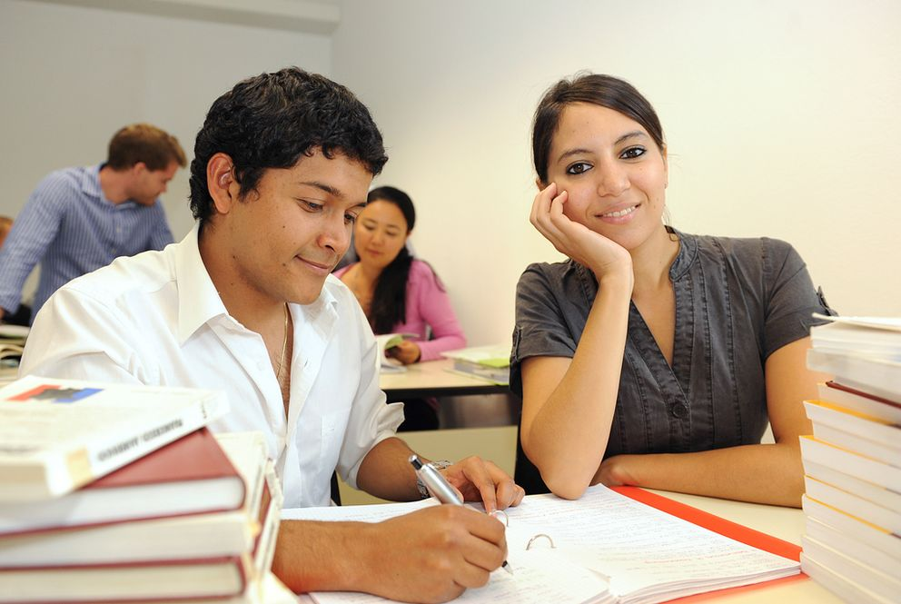 International students at the University of Passau