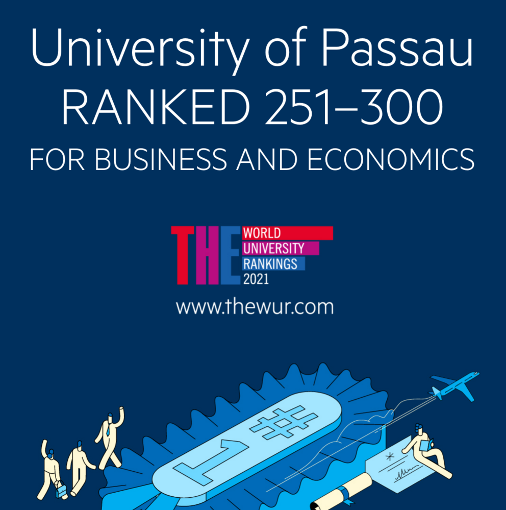 THE Ranking 2020 Ranked 251-300 for Business and Economics