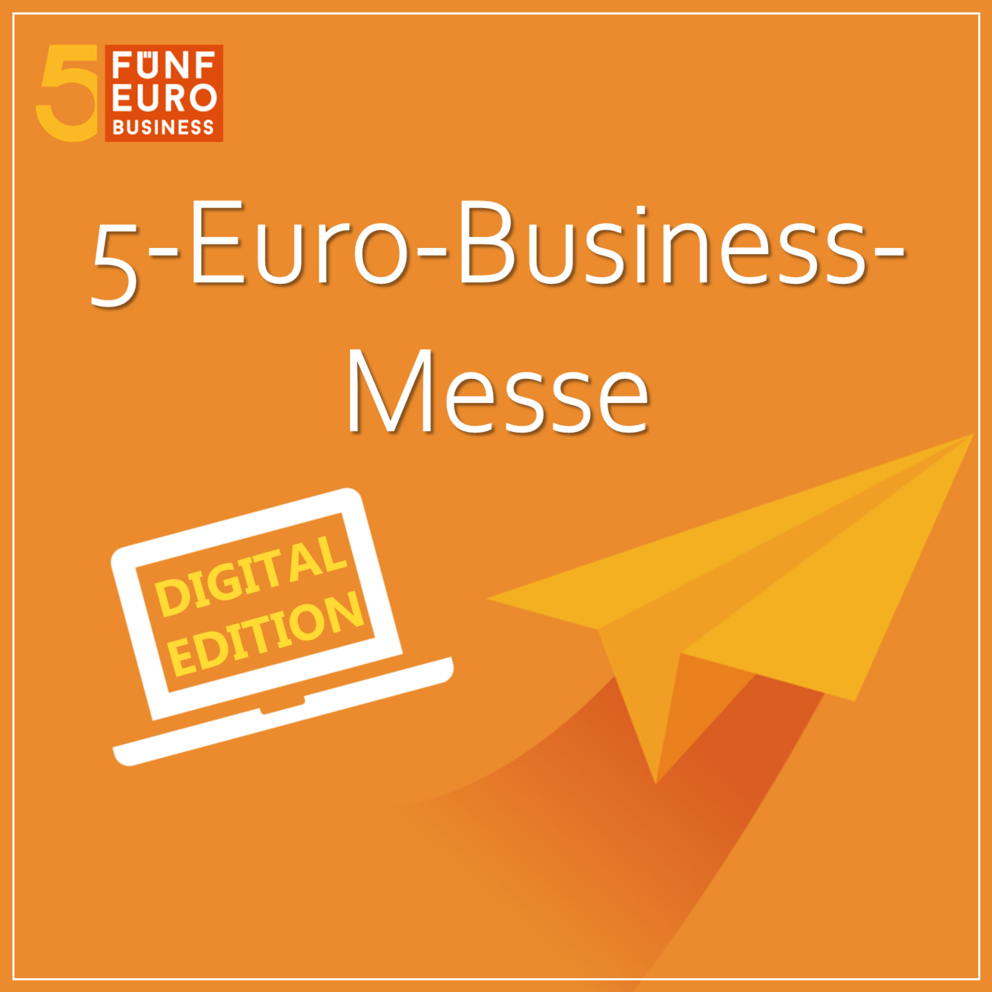 Logo des 5-Euro-Business-Wettbewerbs in digitaler Form
