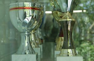 Cups won by the University's sports teams
