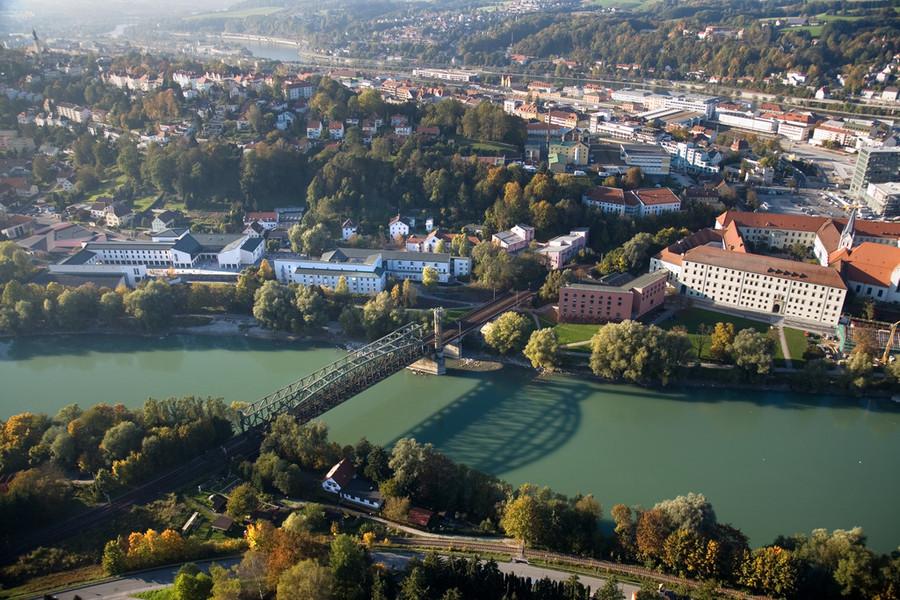 a beautiful campus