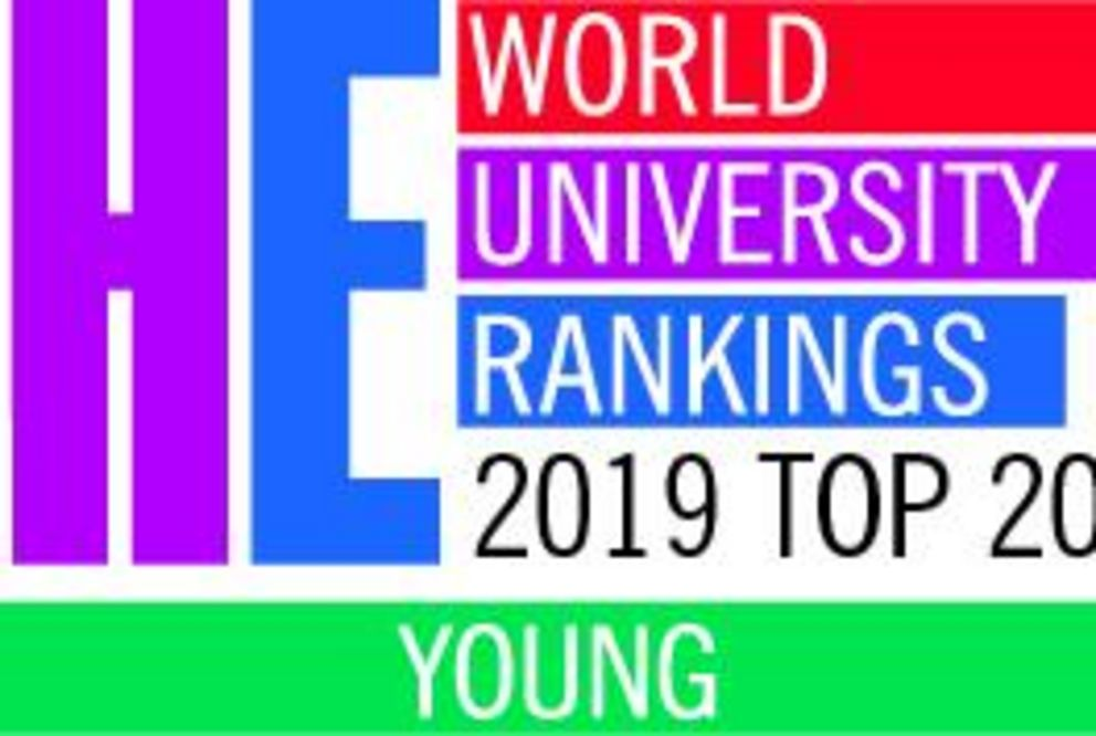 Logo: Young University Ranking 2019 Top 20