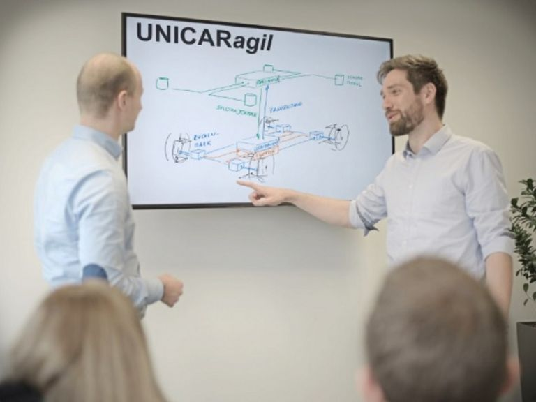 UNICARagil - Forschungskooperation zur Mobilität der Zukunft