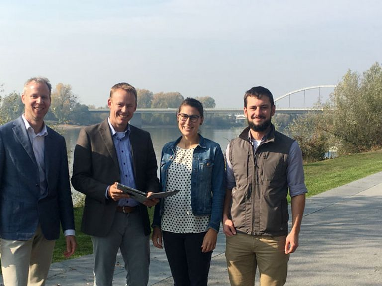 EU-Projekt EcoVeloTour: Fahrradtourismus im Donauraum stärken