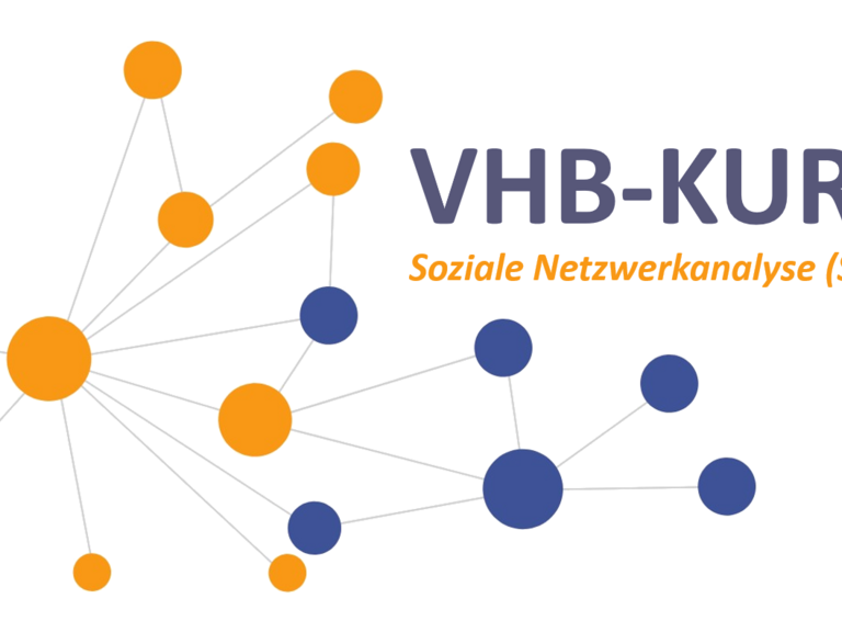 """CLASSIC vhb course: """"Social Network Analysis (SNA) – methods, concepts, applications"""""""