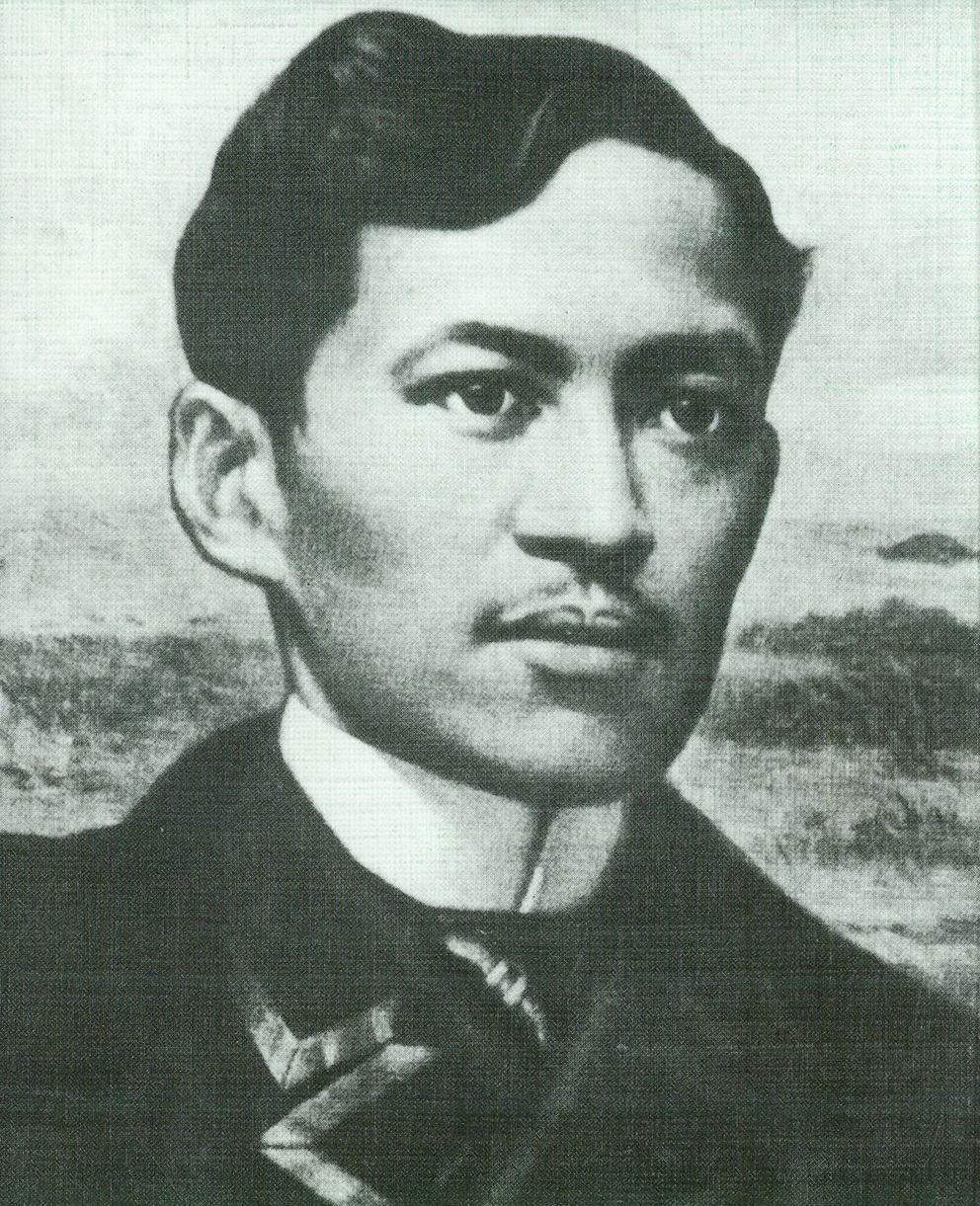 José Rizal, der Nationalheld der Filipinos
