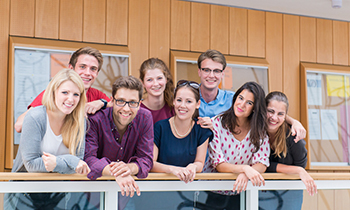 A group of students at the University of Passau